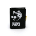 Custom fashion people style canvas card holder