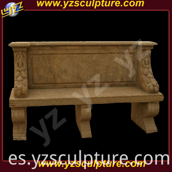 antique stone bench