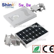 Luz de rua conduzida solar da alta qualidade 12v 12w com garantia de 2 anos