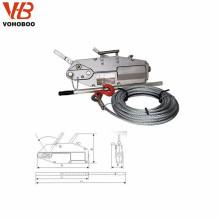 levier de câble métallique treuil treuil manuel câble extracteur