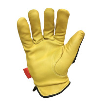 Yellow Custom Warm Acid-resistant Anti-corrosion Gloves