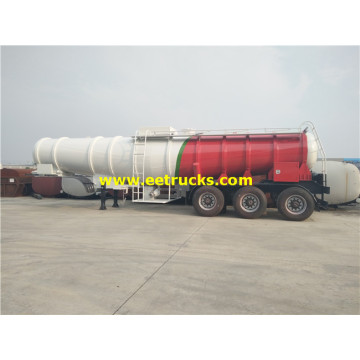 21m3 23ton H2SO4 Delivery Tanker Semi-Trailers