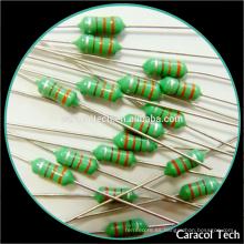 Inductores revestidos plomados axiales de AL0510 2.2mH para la fábrica modificada para requisitos particulares