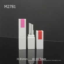 Empty Square High Quality Custom Lipstick Container Tube