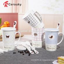 Starke Keramik-Konstruktion Feinporzellan-Tassen