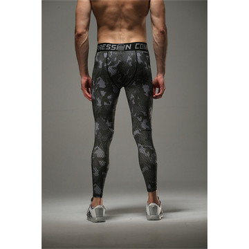 Sublimazione di Mens MMA collant bodybuilding leggings stampato