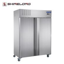 Furnotel Equipamento de refrigeração comercial Double Doors Congelador vertical (European Standard Material and Cooling System)