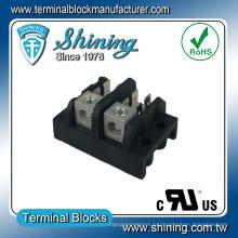 ТГП-085-02А распределения электропитания вкладке Тип 85 Ампер, 2-полюсный терминальный блок