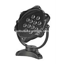 Aluminio IP68 12W luces subacuáticas llevadas