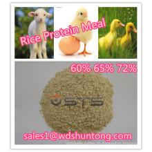 Polvo de proteína de arroz con alta calidad para animales