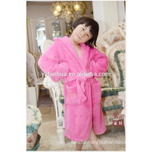 Wholesale High Quality Kids knee length bathrobe