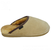 Best Quality for Mens Winter House Slippers women best cow suede leather house sheepskin slippers supply to Tonga Exporter