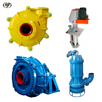 Submersible Horizontal Vertical Electric Slurry Pump