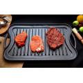 Rabatt Produkt Küche Reversible Gusseisen Grill Griddle