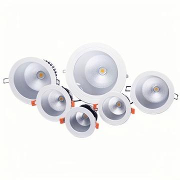 7W LED Alunimum COB Downlight