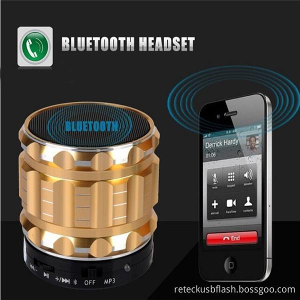 Metal Steel Bluetooth Speaker