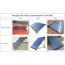 Solar Keymark Zertifizierter Solar Collector