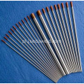 150mm WZ3 Brown Wolfram Electrode