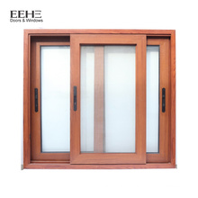 simple aluminum iron window grill with color parts design