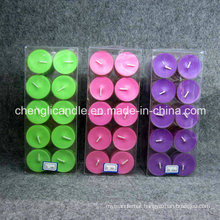 Scent Plastic Cup Tealight Candle