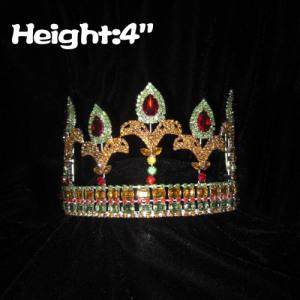 4inch Crystal Fleur De Lis Pageant Crowns