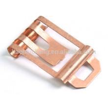 Shrapnel d'estampillage de cuivre de précision pour l'élément électronique