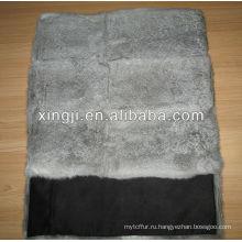 натуральный серый цвет шиншилла мех кролика подушки для софы