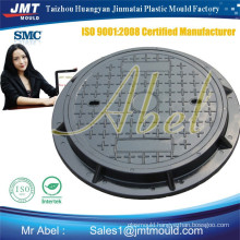 Manufacturing smc composite manhole cover mould