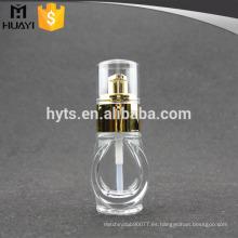 Botella de loción de vidrio de 30 ml para la fundación