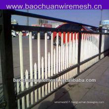 Beautiful steel tube traffic fence barrier