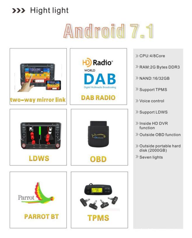Android Autoradio Subaru WRX
