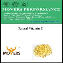 Vitamine E naturelle pure de qualité supérieure