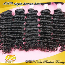 100% real human hair curly black clip in hair extensions for thinning hair african american