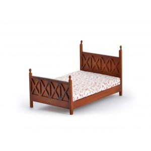 Dollhouse beds for toddlers in wooden