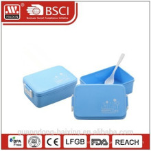 New & Hot selling Rectangular Plastic Lunch Box