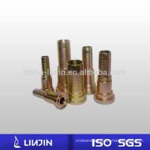 Adaptador de giro hidráulico masculino conector masculino acessórios hidráulicos DIN2353 padrão acessórios para tubos