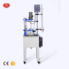 Lab Vacuum Glass Reflux Condenser Reactor