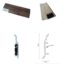 Easy Click Waterproof Plastic Skirting for Laminate Flooring
