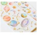 Kawaii dekorativer Telefon-Karikatur-Einhorn 3d Kristallepoxidharz-Aufkleber
