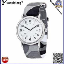 Yxl-129 2016 Relojes de moda promocionales Lona de nylon Nato Strip hombres reloj de pulsera Casual Sport Casual Sport mujeres reloj de señoras reloj de pulsera