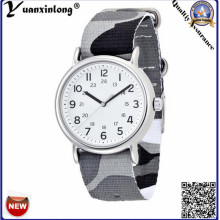Yxl-129 2016 Promotional Fashion Watches Canvas Nylon Nato Strip Men Wrist Watch Casual Sport Casual Sport Women Watch Ladies Wrist Watch
