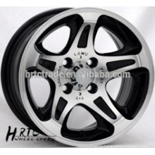 alloy wheel china rims new design 13*6.0car wheels 5x130 rims