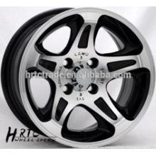 Колеса сплава колеса фарфора новая конструкция колеса 13 * 6.0car колеса 5x130