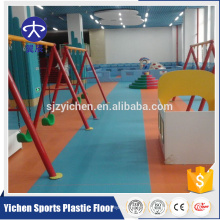 Horizontal Style vinyl surface kindergarten floor my text