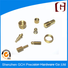 Pièces d'usinage CNC à bronze bronze et précision