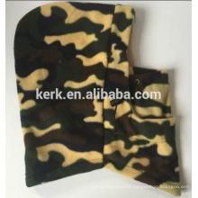 Nuevo camuflaje sombrero de invierno caliente y tapa de doble capa de paño grueso y suave pasamontañas