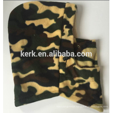 New camouflage warm winter hat and cap double layer fleece balaclava