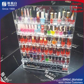 Top Grade Design Acrylic Nail Polish Storage Box