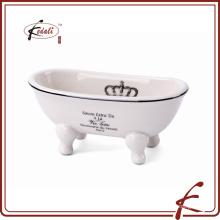 Cerâmica shell banheiro chuveiro saboneteira