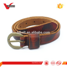 Vintage real leather mens belts